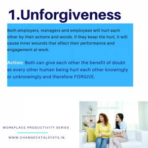 Workplace attitude-Unforgiveness-ChangeCatalysts